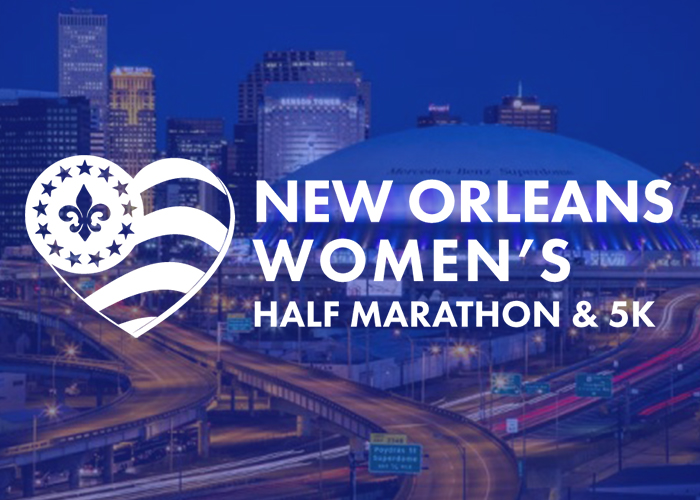 Inaugural New Orleans Women's Half Marathon & 5K Set For Sunday, March 10, 2019!